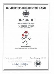 Urkunde-Marke